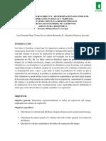 Informe #8- RESPIRACIÓN