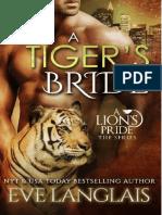 Eve Langlais - A Lion`s Pride 4 - A Tigers Bride