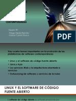 Tendencias de Las Plataformas de Software Contemporáneas
