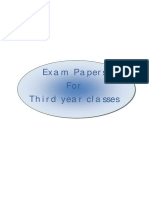 Exam Papers