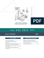 HSC 2013 Blok C.3 Week 1