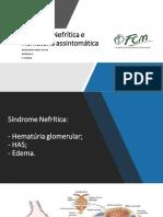 Glomerulopatias - sindrome nefrítica + hematúrias (1)