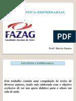 ESTATÍSTICA - FAZAG