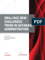 Dbas Face New Challenges Trend in Database Administration White Paper 25651