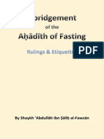 Abridged Rulings of Fasting