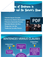 Types of Sentence - Final