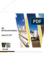 WNRL UBS MLP Conference January 2017