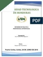 Informe de Práctica Final