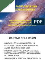 DIEZ PASOS HACIA UNA LACTANCIA EXITOSA. SESION GENERAL.pptx