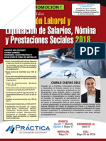 Actualización Laboral, Nómina y Prestaciones Sociales Mayo