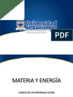 1. Materia y Energía