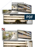 AUTOEVALUACION UNSTITUCIONAL