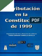 La Tributacion en La Constitucion de 1999
