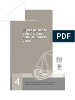 Manuel Valadez Diaz - El Juez Mexicano ante el juicio penal acusatorio y oral