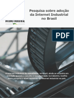 Pesquisa Sobre Adoção Da Internet Industrial No Brasil - ABII
