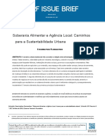 TRADUZIDO Soberania Alimentar e Agência Local_caminhos Para a Sustentabilidade Urbana.en.Pt