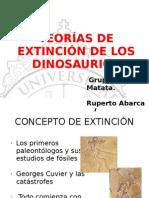 TEorias de Extincion de Los Dinosaurios
