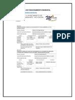 Anexo 13 Licencia de Funcionamiento Municipal