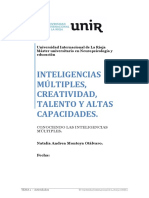 Natalia Montoya Conociendo Las Inteligencias Múltiples Tema 1