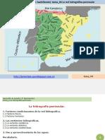 La hidrografía peninsular
