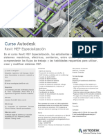 Folleto Autodesk Curso Revit Mep