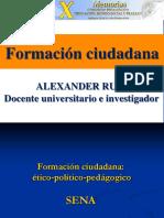 3. Formación Ciudadana - Alexander Ruíz