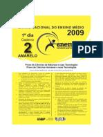 ENEM 2009 - Prova Amarela - 1º Dia
