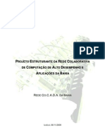 Projeto Estruturante Da Rede Co.C.a.D.A