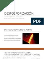 DESFOSFORIZACIÓN