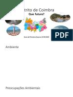 Distrito de Coimbra - CE - trabalho