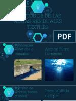 Efectos de Las Aguas Residuales Textiles