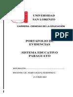 Portafolio Sistema Educativo Paraguayo