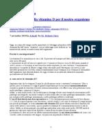 Dr_Roberto Gava L_importanza Della Vitamina D Per Il Nostro Organismo