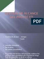 GESTION DE ALCANCE DEL PROYECTO.pptx