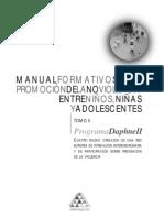 Manual Formativo Sobre La Promocion de La No Violencia