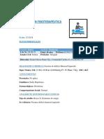 Evaluacion Fisioterapeutica Final