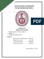 Informe 2 Ensayo de Traccion Oficial
