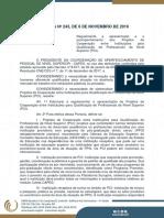 Portaria 243.2019 CAPES Regulamenta Acordos Cooperação