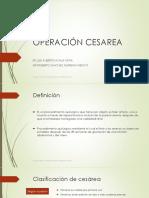 Operación Cesarea