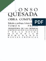 Alonso Quesada, Crónicas de la ciudad y de la noche