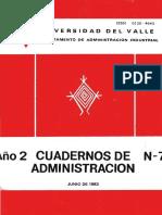Lfio 2 Cuadernos de N-j a,Dministracion - Facultad de ...