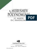 CHEBYSHEV POLYNOMIALS  - Manson