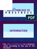 Deflection Due to Prestress