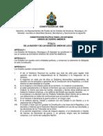 Constitución de la República de Honduras 1898