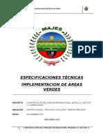 5. Et Implementacion de Areas Verdes