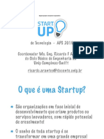 Startup Definiçao