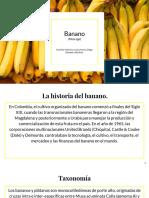 Presentación banano