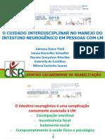 Cuidado Interdisciplinar No Manejo Do Intestino Neurogênico Em Pessoas Com Lesão Medular (Adriana Tholl)