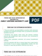 Trend Dan Issue Keperawatan Maternitas