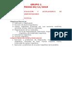 Tareas de Módulo Inst. y Acop. de Transformadores